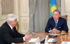 Meeting with the Honored Artist Alibek Dnishev