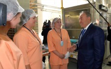 Visit to Kostanay's Bayan Sulu confectionery plant