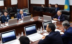 President Nursultan Nazarbayev visited the Situation Centre under the akimat of Kyzylorda region