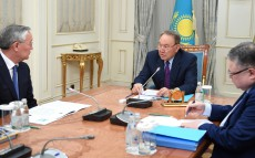 Meeting with Takir Balykbaev, Rector of the Abay Kazakh National Pedagogical University