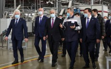 "The President visits the ""Saryarka"" Special Economic Zone"