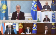 The President of Kazakhstan took part in the CSTO Collective Security Council session