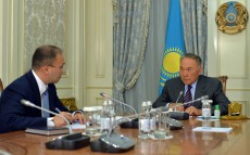 Meeting with Minister of Information and Communications Dauren Abayev