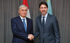 Kassym-Jomart  Tokayev held meeting with Prime Minister of Canada Justin Trudeau