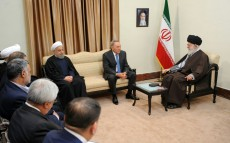 Meeting with Ayatollah Ali Khamenei, the Spiritual Leader of the Islamic Republic of Iran