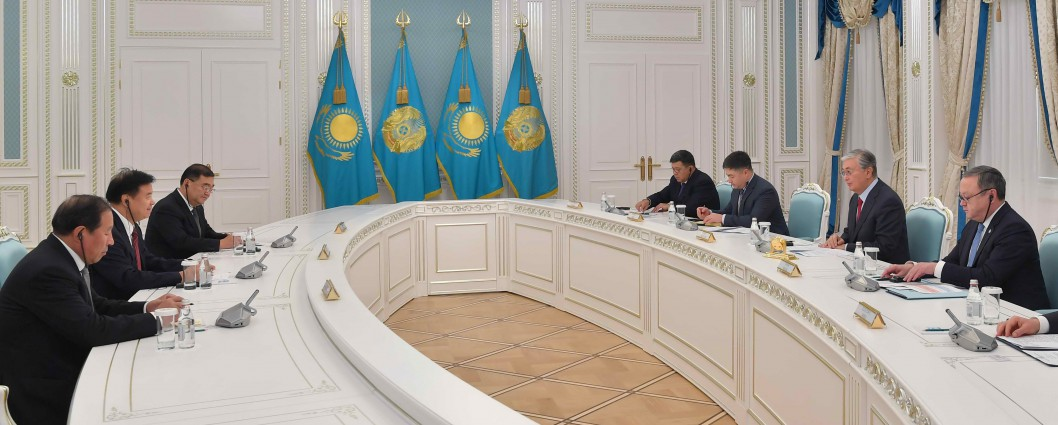 Kassym-Jomart Tokayev received Wang Yilin, Chairman of the CNPC Corporation
