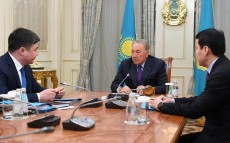 Meeting with Timur Suleimenov, Minister of National Economy