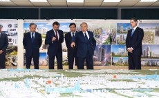 Nursultan Nazarbayev visits Astanagenplan Scientific Research Design Institute
