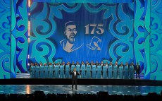 President of Kazakhstan took part in the opening ceremony of celebrations dedicated to the 175th anniversary of Abai Kunanbayuly