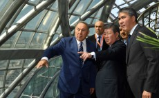"Visit to ""Astana EXPO-2017""exhibition complex"