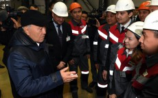 Visiting Aktobe Rail-Belt Plant LLP
