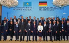 President Kassym-Jomart Tokayev addressed the heads of German companies
