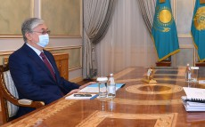 The President receives Chairman of the Anti-Corruption Agency Alik Shpekbayev