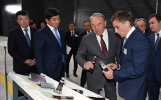 Visit to Almaty's industrial zone
