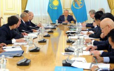 Today President Nursultan Nazarbayev Chairs Samruk-Kazyna Management Council Meeting