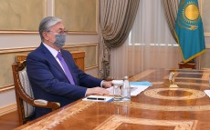 President Kassym-Jomart Tokayev receives Chairman of Agency for Civil Service Affairs Anar Zhailganova