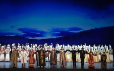 Nursultan Nazarbayev attends Abai opera at the Astana Opera and Ballet Theater