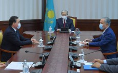 The President took part in the Plenary Session of the Majilis of the Parliament