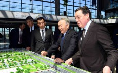 "Visiting ""Nurly Zhol"" new railway station complex"