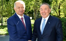Meeting with President of the Republic of Uzbekistan Islam Karimov