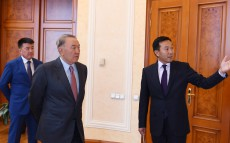 Visit to the Fund of the First President of Kazakhstan in Almaty