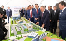 Familiarization with the project for Turkestan city's development