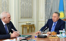 Meeting with Anatoly Smolin, the Supreme Judicial Council Chairman